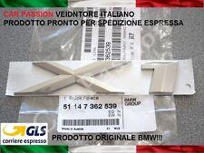SCRITTA STEMMA BMW X1 E84 PORTELLONE POSTERIORE LOGO ORIGINALE REAR SIGN NUOVA