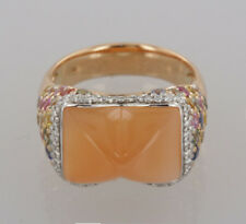 Moonstone Rose Gold Fine Rings