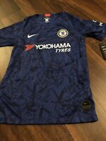 New Nike Youth Chelsea Football Club Soccer Jersey Size Kids Large London Blue