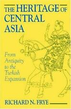 The Heritage of Central Asia, , Frye, N. Richard, Very Good, 2012-01-15,