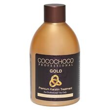 ❤ COCOCHOCO Professional GOLD Brazilian Keratin Hair Straighten Treatment 250 ml