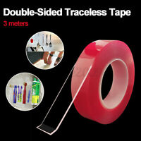 3M Double-Sided Nano Tape Traceless Clear Adhesive Gel Anti-Slip 2020 🔥 A!