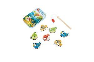 Hape Gone Fishing Game In A Tin - Gone Fishin-Pre-school - Children's Game - New