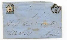 ANTICHI STATI 1861 NAPOLI UN GRANO ANNULLO DI CEGLIE N°RIF 6304