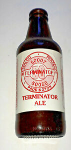 Terminator Ale empty beer bottle for 50007 50050 Special train to Penzance 1994