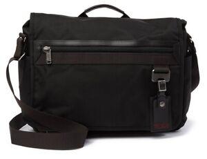 NWT TUMI Northlake Expansion Messenger Laptop Bag black 069372HKO Nylon NICE!!!