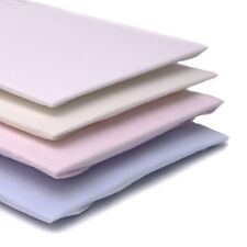 """PREMIUM FITTED SHEET - WHITE to fit Silver Cross BALMORAL / 40"""" Coach Built Pram"""