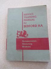 1960s Bedford van HAV HAE suspension & steering & brakes service training manual