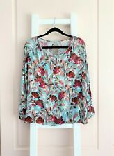 ALANNAH HILL 'SHAPED BY DESIRE' FLORAL TOP BLOUSE / SZ 16