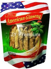 PREMIUM AMERICAN GINSENG Root Long and Medium, Hand Selected Grade A (4 OZ)