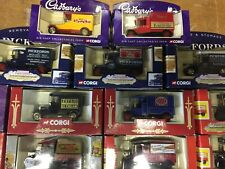JOB LOT of 25 .CORGI MOTORING MEMORIES. SUIT CAR BOOTER ?