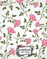 Notebook Journal Dot-Grid,Graph,Lined,Blank No Lined : Flower Wallpaper No. 3...