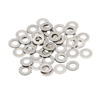 100pcs/Lot 304 Stainless Steel Metric Flat Washer Screw Repair Kit Tool M4