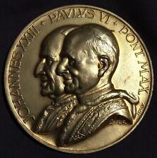 Medaille Vatikan Johannes Xxiii Paolus VI Concilium Oecumenicum Vatikan II