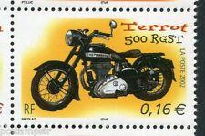 FRANCE 2002, timbre 3509, MOTO TERROT 500 RGST, neuf**, VF MNH STAMP, MOTORBIKE