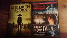 Stephen King's Children of the corn 1 to 4 (dvd 2009-2011)(region 1)