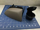 Ford F-150 Expedition Navigator Dash mounted Cup Holder Brown Nice With Ash Tray