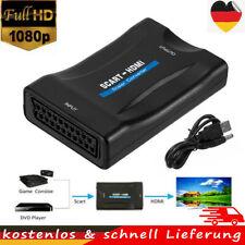 Universal HDMI zu auf Scart Konverter Video Audio Converter Adapter 1080P TV DVD