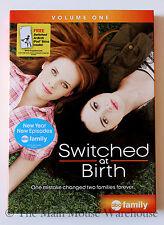 Switched at Birth Volume 1 Deaf ASL Teenage High-school Drama T.V. Series on DVD