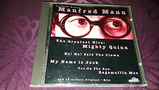 CD Manfred Mann / The greatest Hits Manfred Mann - Album 1993