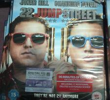 22 Jump Street Blu-Ray(With UV Copy) slipcover new sealed