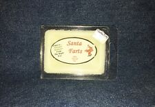 **NEW** Hand Poured Holiday Scented Soy Candles Tarts & Votives - Santa Farts