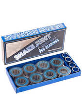 Shake Junt Brian Herman Blue Pro Edition Skateboard Bearings With Spacers