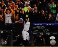 Trevor Story Signed Rockies 8x10 Wave to Crowd PF Photo W/ HR Insc- JSA W Auth