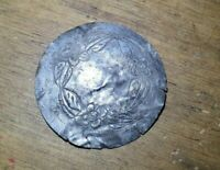 Mexican Silver Colonial Stuff Barroco and Rococo Art Ornament of Flowers