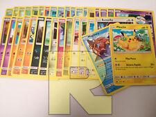 Set Completo Comuni di Invasione Scarlatta ® 34 Carte ® Pokemon ® Italiano