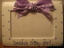 DADDY'S LITTLE GIRL - fathers day Dad Grandpa photo picture frame