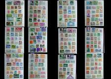 Stamp Collection Asia Laos Hong Kong Philippines Malaysia Japan China Thailand