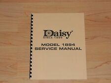 Daisy Model 1894 Factory Service Manual - #D1