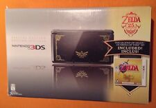 The Legend Of Zelda 25th Anniversary Limited Edition Black & Gold Nintendo 3DS