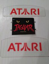 Atari Jaguar dust cover pack x3 with black or red logo on slot cover's.