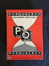 Perquackey (Lakeside Toys, 1956  #8313) The Different Word Game