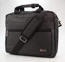 Bolso de vestir con compartimento LAPTOP Negro Ordenador Portátil Negocios NUEVO