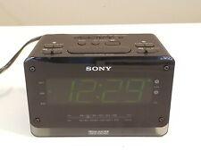 Sony Clock Radio Icf-C414 Black/Dream Machine Large Digital Display Dual Alarm