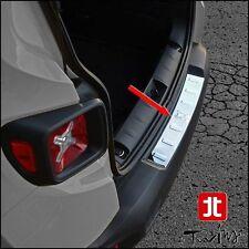 Protezione soglia carico paraurti Jeep Renegade battivaligia acciaio cromato