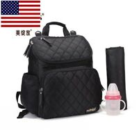 Mummy Maternity Backpack Baby Nappy Diaper Stroller Changing Bag for Hot Mom Dad