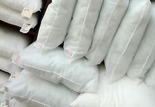 """2 4 6 8 10 x 16"""" 18"""" 20"""" 22"""" 24"""" Hollowfibre Cushion Pads Inserts Fillers Inners"""