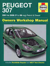Haynes Manual Peugeot 307 2001/2008. Petrol and Diesel