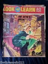 LOOK and LEARN - THE DEVIL'S BREW - JULY 25 1970