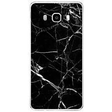 Coque Housse Samsung Galaxy J5(2016)à motif Silicone Gel qualité FR -Marbre noir