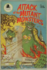 Attack of The Mutant Monsters No. 1, 1991, A-Plus Comics, B&W, Sci-Fi / Horror