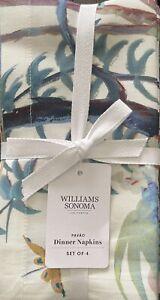 Williams-Sonoma Pavao Napkins Set/4