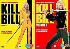 Quentin Tarantino's Kill Bill Vol 1 + Kill Bill Volume 2 Complete (2 Discs) DVD