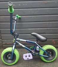 Rocker 3+ Joker Fuel Blue Green Custom Upgrades Mini BMX Bike Rare Latest Model
