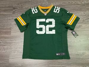 Nike Green Bay Packers Clay Matthews Elite Football Jersey 56 468891-325 $295