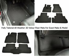 All Weather Floor Liner Velour Carmats Rubber Backing Fit Range Rover L322 2002-